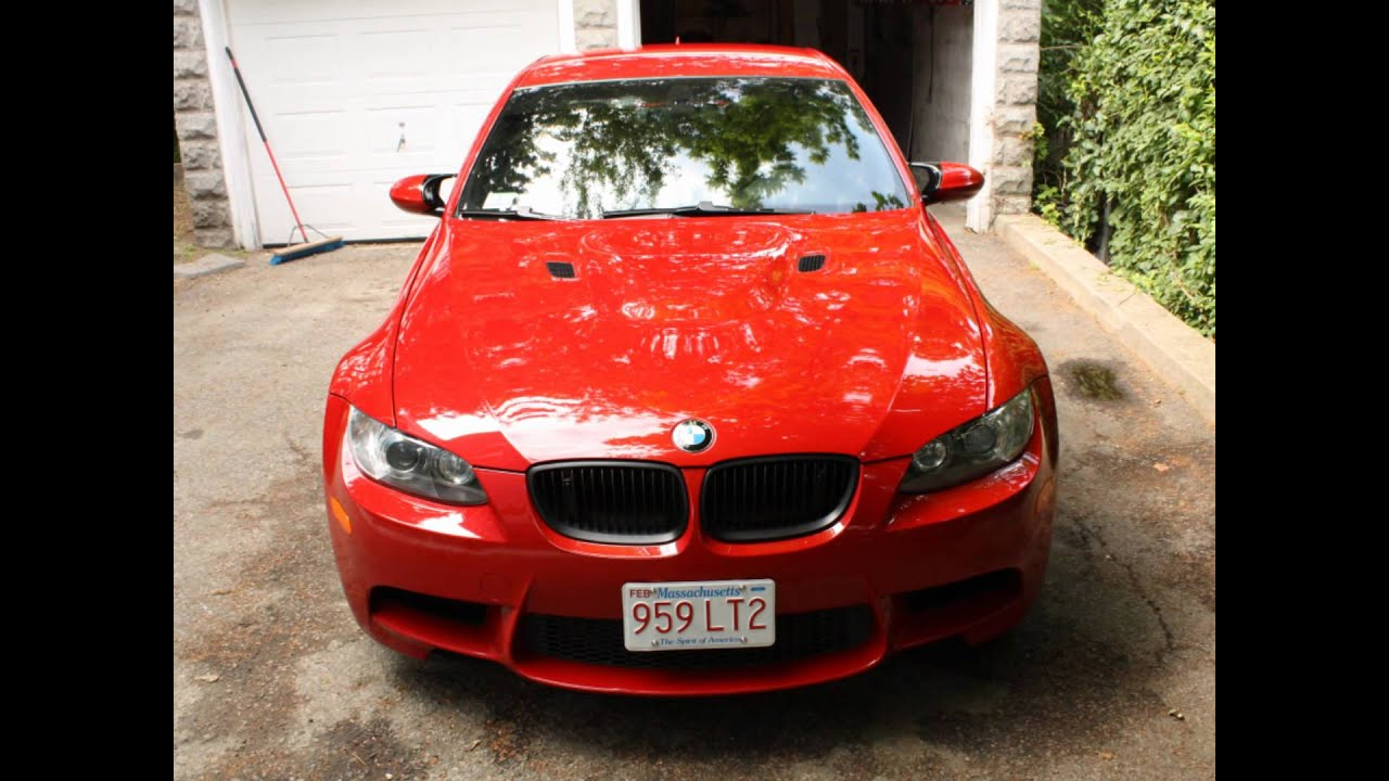 Rock Chip Repair >> BMW M3 - Paint Correction & Rock Chip Repair - YouTube
