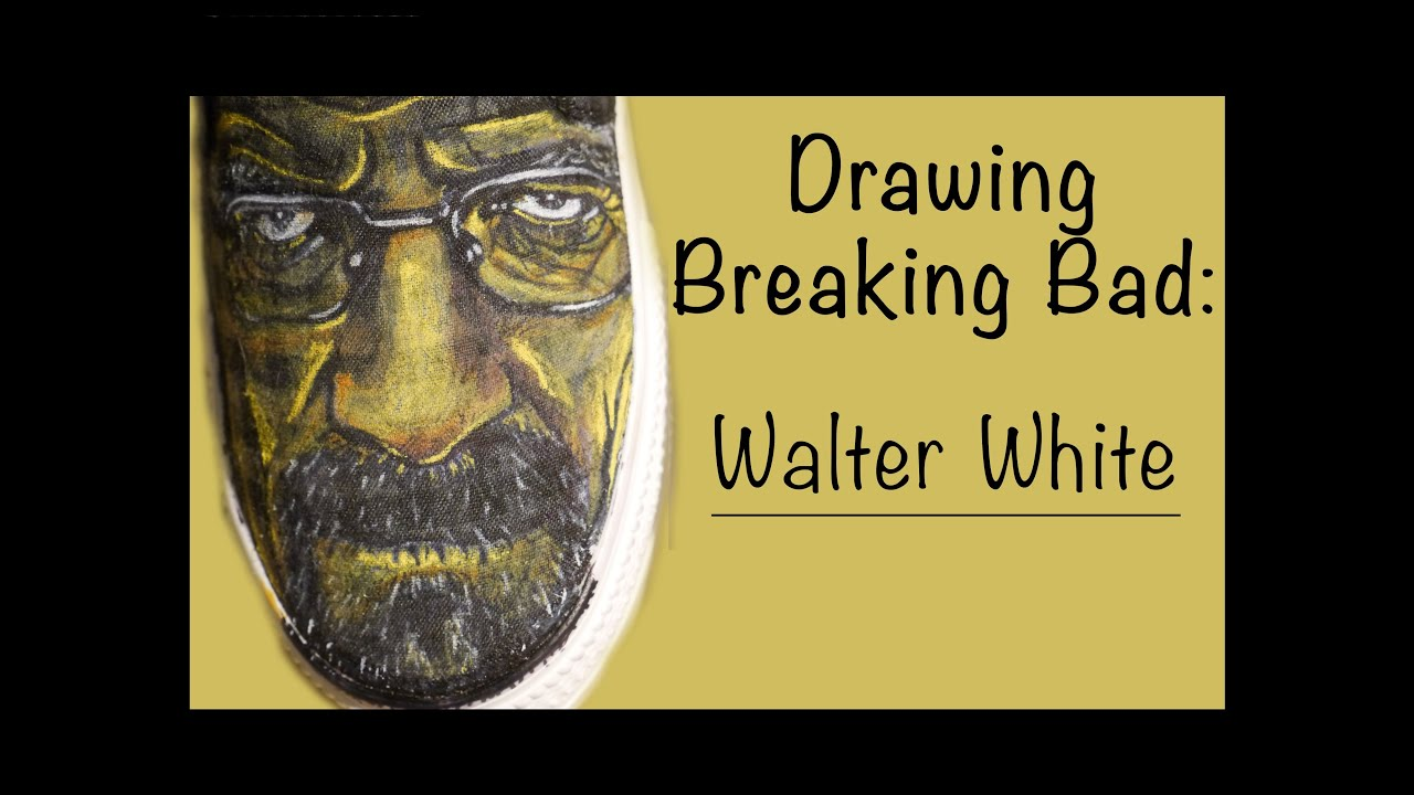 drawing breaking bad shoes walter white