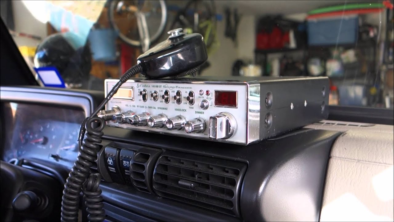 Hook up cb radio antenna