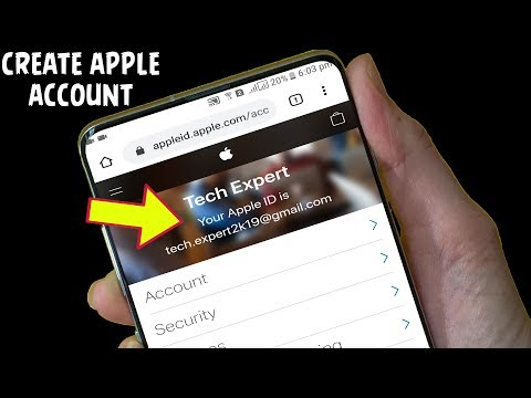 How To Create Apple Account On Android Or IOS?🍎2020 | How To Make An Apple ID Without Credit Card?