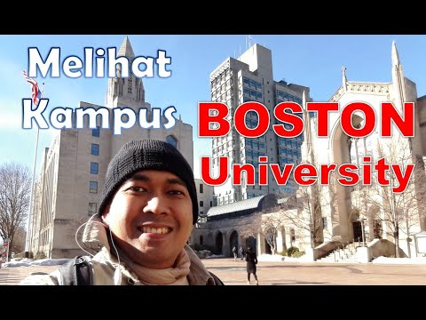 Campus Vlog: Keliling Boston University