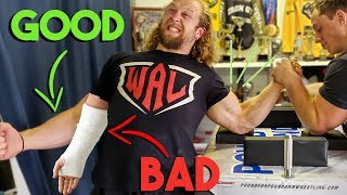 How To NOT Break Your Arm Wrestling