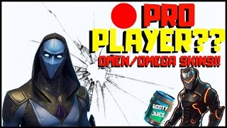 FORTNITE PRO PLAYER// LOCAL REGIONAL TOP#616 OMEN/OMEGA SKIN LIVE WITH SUBSCRIBERS