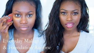 UPDATED EVERYDAY MAKEUP AND FOUNDATION ROUTINE - DARKER SKIN Thumbnail