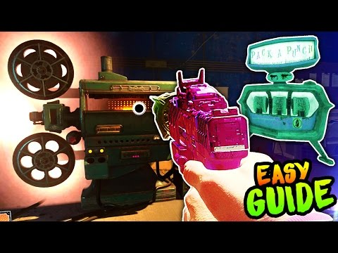 ZOMBIES IN SPACELAND PACK A PUNCH EASTER EGG GUIDE!