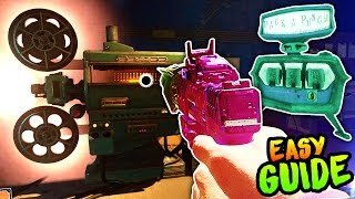 ZOMBIES IN SPACELAND PACK A PUNCH GUIDE! (Infinite Warfare Zombies PaP Location, All Power Switches)