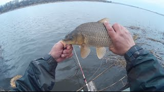 Рыбалка в марте на дальний заброс.