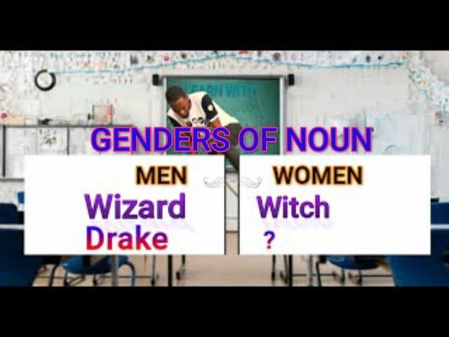 Genders of Noun: Masculine vs Feminine