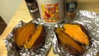 Mashed Maple-spiced Sweet Potatoes