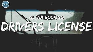 Olivia Rodrigo - drivers license (Clean - Lyrics)