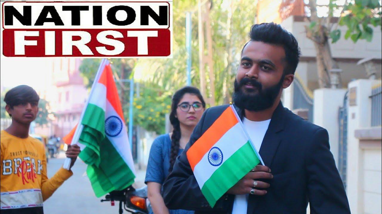 Nation first | Republic Day special | Heart teaching | Hariom Dave | Sohini kadecha | Vishal Ahir |