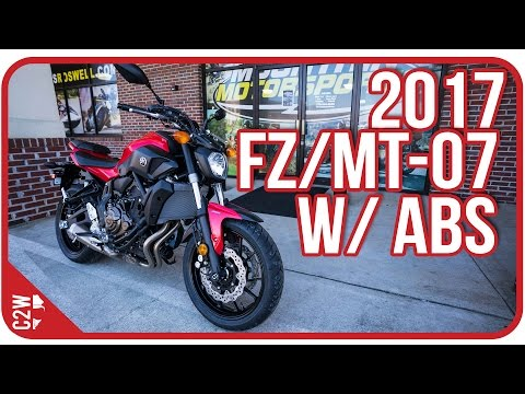 2017 Yamaha FZ-07 with ABS (MT-07) | First Ride