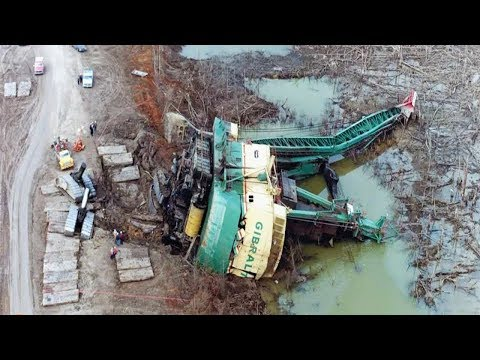 TOP IDIOTS Crazy Operator Heavy Equipment Skills - Bulldozer, Excavator Fail Win Compilation