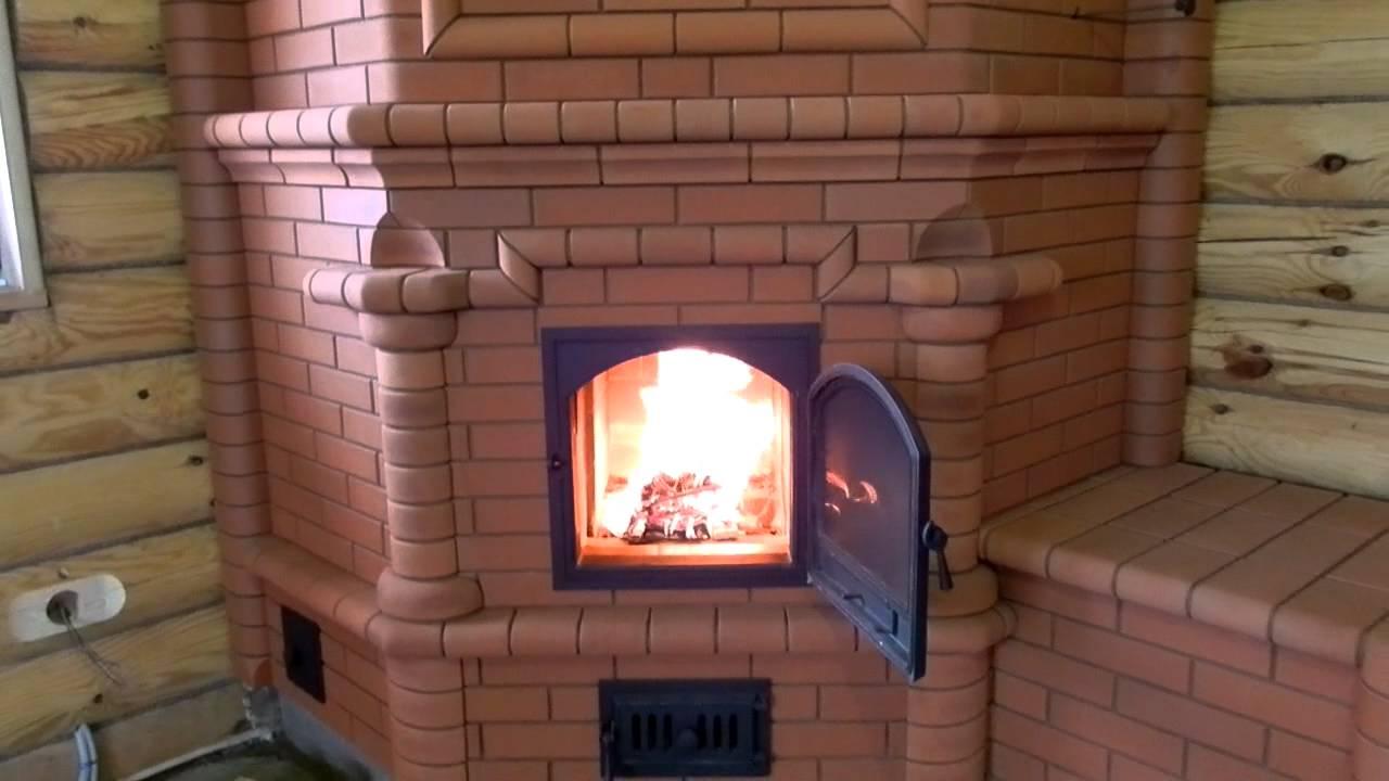 Печь угловая для дома своими руками фото 582