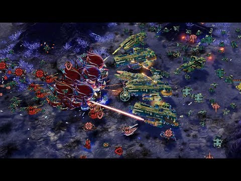 Ashes of the Singularity: Escalation  1v1 THE MASSIVE WAR | Multiplayer Gameplay