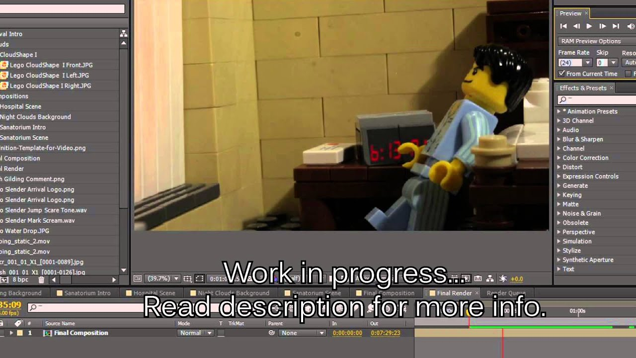 how to make lego slender