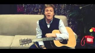 Paul McCartney birthday tribute to Charlie Gracie
