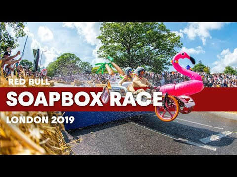 You Won't Believe Your Eyes: Red Bull Soapbox Race 2019 London