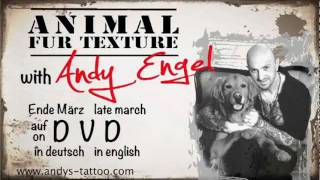 Fur Texture Tattoo with Andy Engel