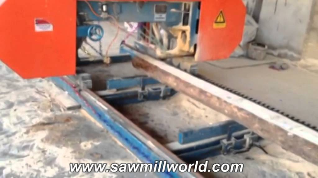 Portable Horizontal Band Sawmill For India