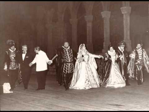 Donizetti - Lucia di Lammermoor (1976 - Deutekom, Pavarotti, Bruson - De Fabritiis - Verona)
