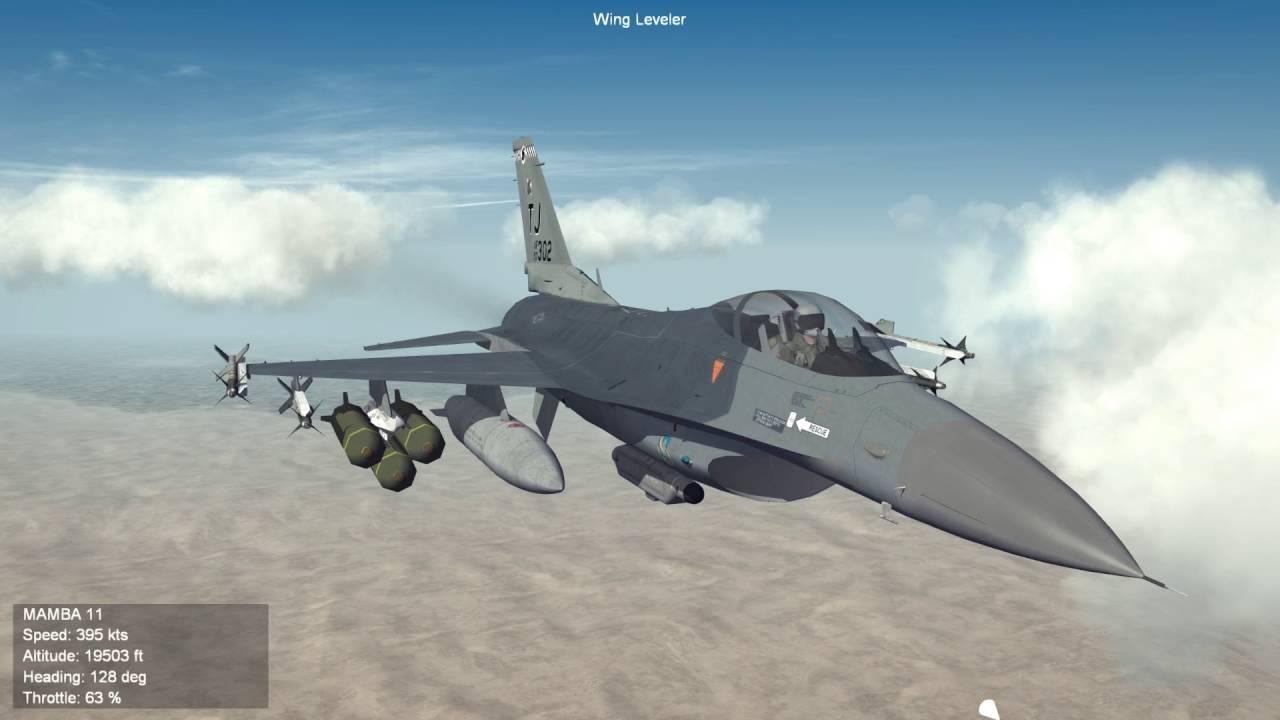 Strike Fighters 2 Israel CAS Part 1