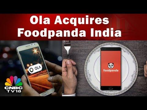 Ola Acquires Foodpanda India | Ola to Infuse 1,300 Cr. in Foodpanda | CNBC-TV18