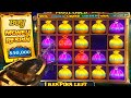 Spending $50,000 on a Pirate's Gold Deluxe Slot Bonus...
