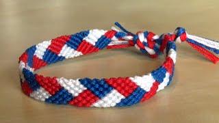 Easy Friendship Bracelet : the braid