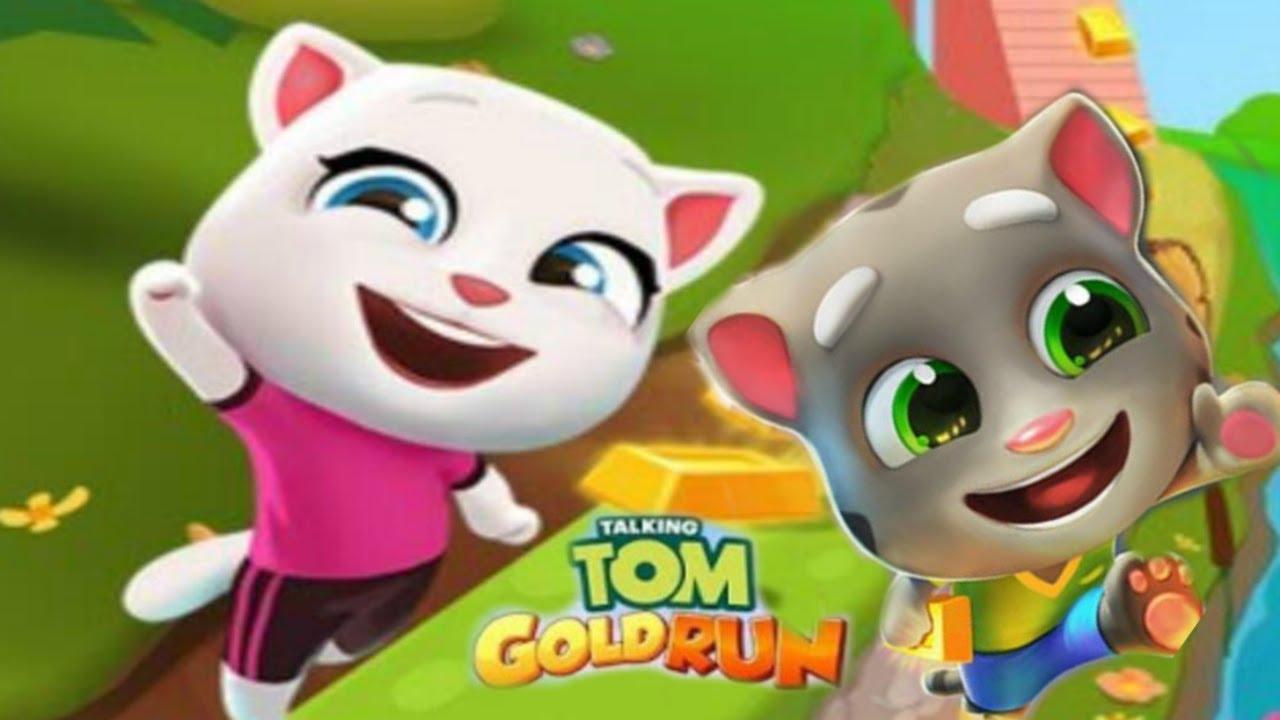 Talking Tom Gold Run - Warrior Tom Gameplay Walkthrough ...