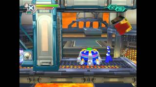 Mega Man X7 - Flame Hyenard Perfect Run
