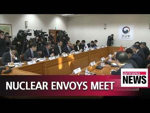 Nuclear envoys of South Korea and China meet to discuss developments on North Koreas..