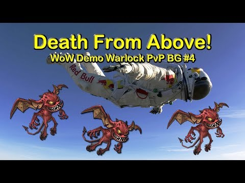 Death from the Skies - Demonology Warlock PvP | World of Warcraft BFA (WoW) 8.0.1