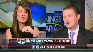 Eric Trump: My dad is a workaholic