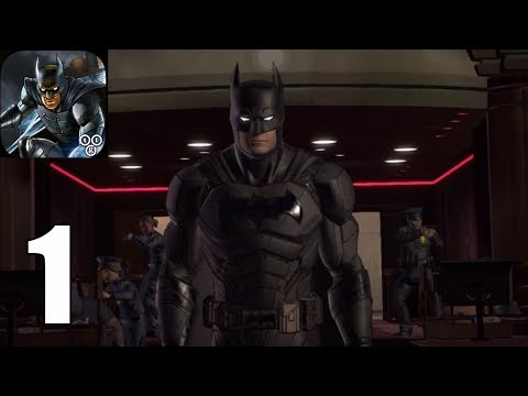 Batman : The Enemy Within ( IOS / Androi ) Gameplay #1 - Episode 1 : The Enigma