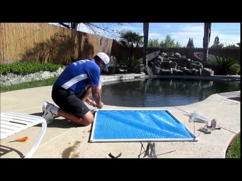Diy inexpensive easy homemade solar rings to reduce for Piscine poolman
