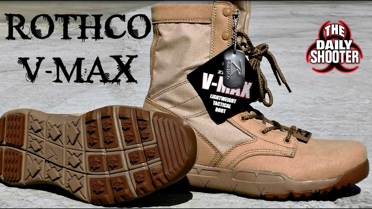 623c37c9a1811 Rothco V-Max Lightweight Tactical Boot Review - YouTube