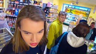 VLOG: Starbucks с Владом и Андреем, ситуация в супермаркете, виза, веселье и ресторан