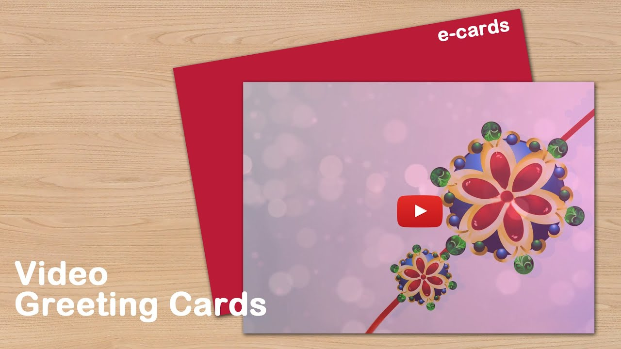 Happy Raksha Bandhan Video Greeting Cards Youtube