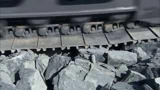 Excavadora de orugas Volvo EC170D: durabilidad de servicio pesado