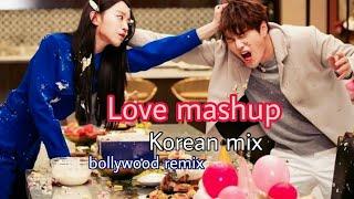 New romantic mashup song || bollywood remix || cute love story || Korean mix hindi ||