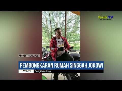 Warga Parigi Tengah Halangi Pembongkaran Rumah 'Singgah' Jokowi di Ex Sail Tomini