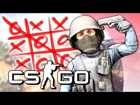 РУССКАЯ РУЛЕТКА И КРЕСТИКИ-НОЛИКИ! - CS:GO (Мини-Игры)