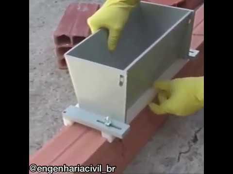 Удобная штуковина для кладки кирпича