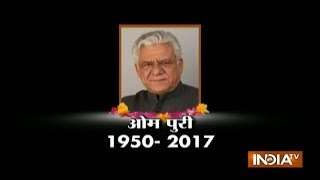 Om Puri passes away following Heart Attack; PM Modi, Bollywood Condole his Death