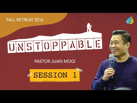 TLC Unstoppable Retreat 2016 - Ps Juan Mogi - Session 1 (Ind