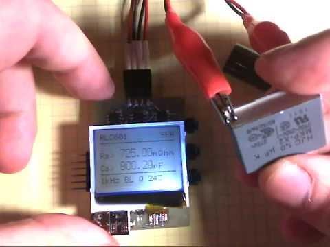 RLC/ESR Meter based on stm32f100