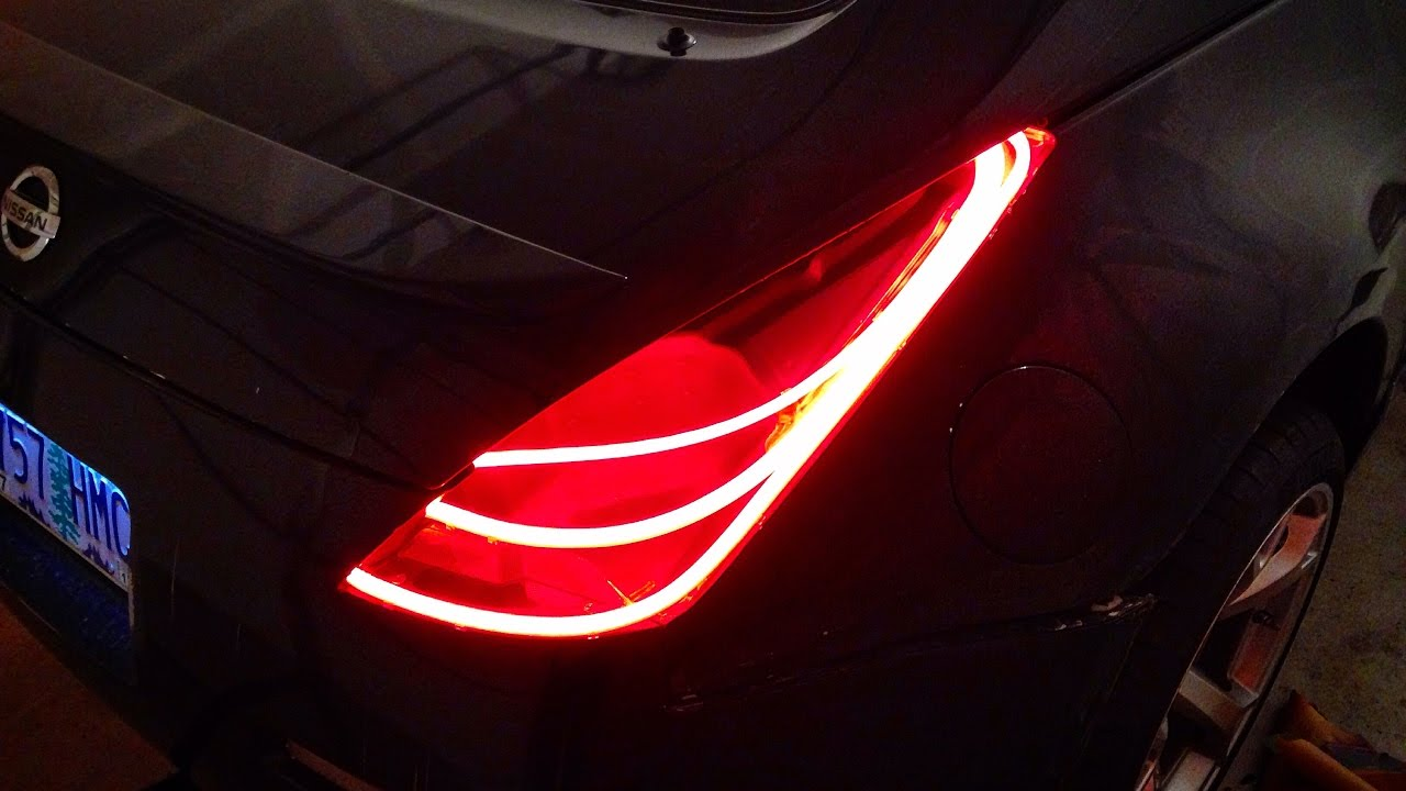 Custom Z Tail Lights Youtube