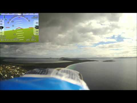 FPV Flying over Goode Beach in Albany WA - With HUD Overlay