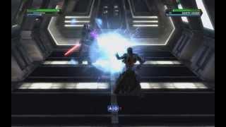 Star Wars The Force Unleashed - Dark Side Ending - Fallen Starkiller vs. Darth Vader